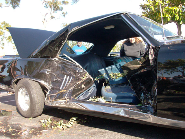 Car crash law firm injury Side impact door latch side beam attorney Kansas City